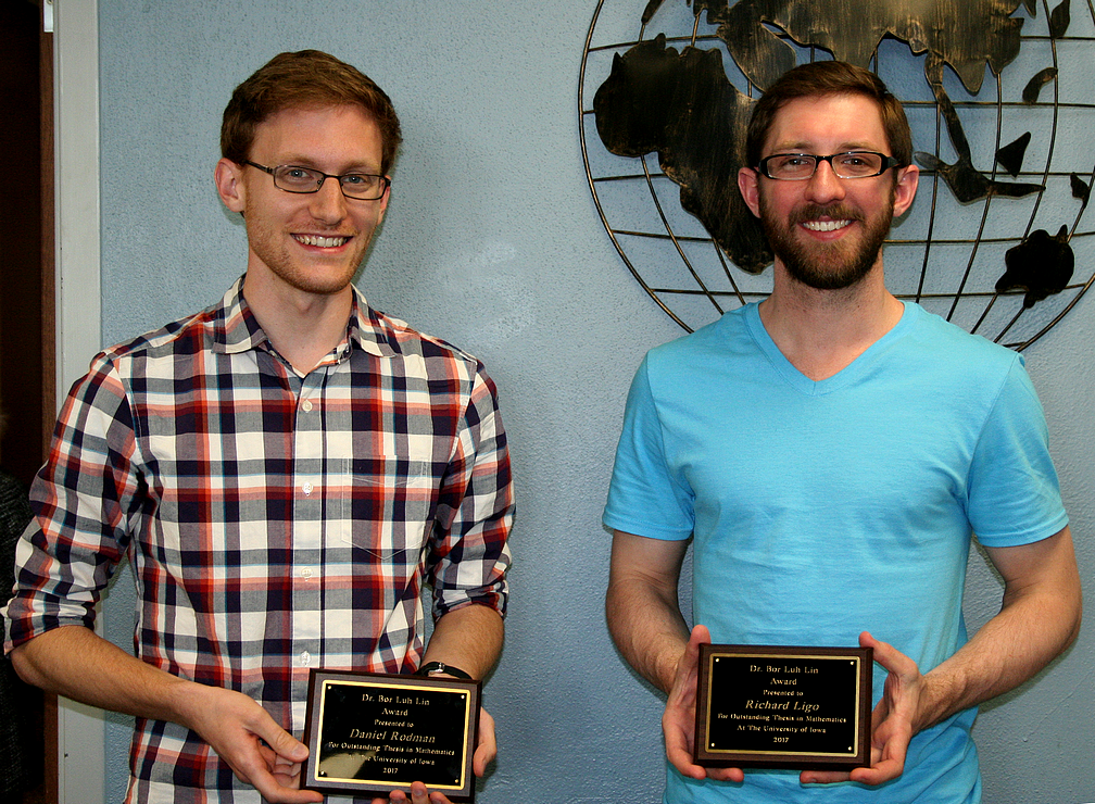 Winners of the Bor-Luh Lin Thesis Award