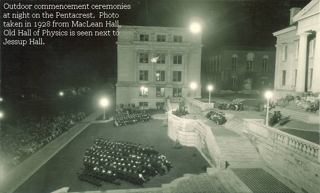 Night Commencement Ceremony - 1928