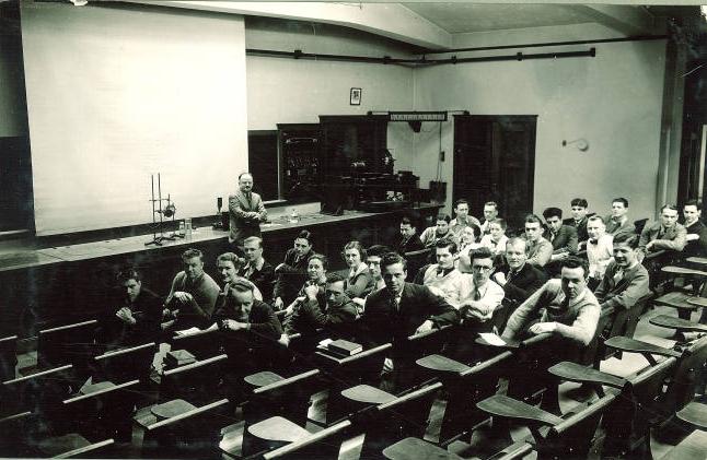 MacLean Hall auditorium - 1930s