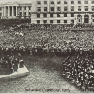 Induction Ceremony - 1925
