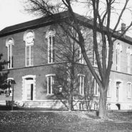Old Hall of Physics (North Hall), circa 1900.